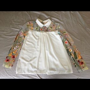 Floral Blouse from Spain